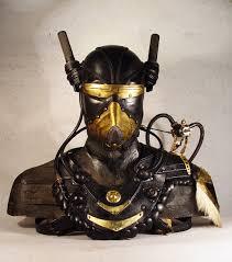 nord guard steampunk art leather mask bob basset livejournal