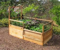 Kitchen Garden Kit 3x6 Elevated Raised Bed With Fencing Gardens Raised Beds And