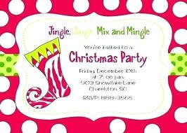 Sample Of Christmas Party Invitation Invitation Sample For Party Festive Business Holiday How To