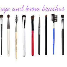 eye makeup brushes and their uses. what to use these types of eye and brow brushes for here makeup their uses b