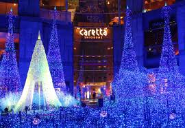Shiodome Christmas Lights File Caretta Shiodome At Night 1 Jpeg Wikipedia