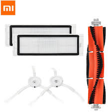 Xiaomi Robot Vacuum Cleaner <b>Main Brush Filters Side</b> Brushes ...