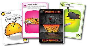 exploding cats. Wonderful Exploding The Card Game For People Who Are Into Kittens Explosions Lasers And  Sometimes Goats  Exploding Kittens To Cats L