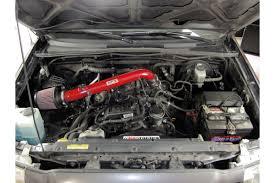 HPS shortram cool air intake kit 05-16 Toyota Tacoma 2.7L 4CyL Red ...