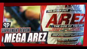 arez of the gym pre workout review ntel pharma