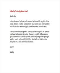 46 Super Follow Up Letter Job Application Status Pelaburemasperak