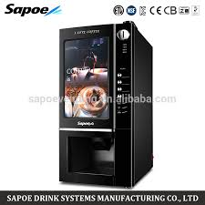 Tea Coffee Vending Machine With Coin Best Sapoe Sc48 Blk Coin Operated Instant Coffee And Tea Coffee