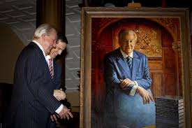 ernie eves portrait finally unveiled at queen s park toronto star