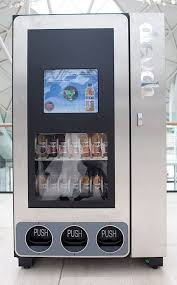 Smart Vending Machines Cool Smart Vending Machine Does Not Ask For Money Only Rattling Of