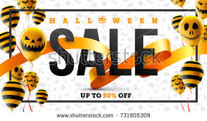 halloween sale flyer pumpkin halloween flyer template download free vector art stock
