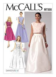 Mccalls Patterns Magnificent M48 Misses' Crop Top and Gathered Skirts Sewing Pattern
