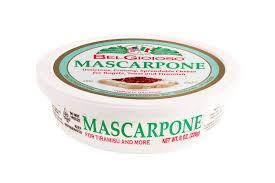 Belgioioso Mascarpone Cheese 8 Oz Cup Spreadable Cheese Walmart Com