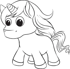 Small Picture Free Printable Unicorn Coloring Page for Kids 2