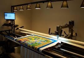 Longarm Quilting & Picture of Gammill Long Arm machine Adamdwight.com