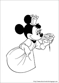free coloring minnie mouse pages