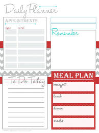 Fitness Planning Free Printable Personal Planner Pages – Template ...
