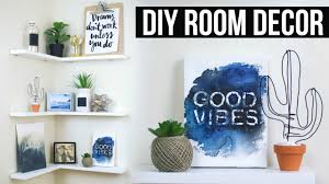 Science Bedroom Decor Diy Floating Shelves Room Decor Pinterest Inspired Youtube