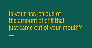 40 SmartAss Insults To Destroy Your Worst Enemies More Gorgeous Smartass Quotes