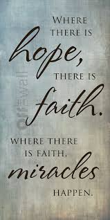 Hope And Faith Quotes Classy Quotes About Faith And Hope Magnificent Best 48 Hope And Faith