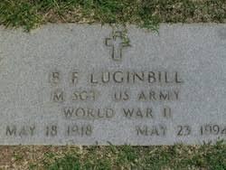 """Sgt Benjamin Franklin """"Bill"""" Luginbill Jr. (1918-1994) - Find A ..."""