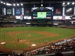 Arizona Diamondbacks Baseball Game At Chase Field In Phoenix