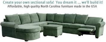 Carolina Chair Custom Sectional Sofa Loveseat north carolina