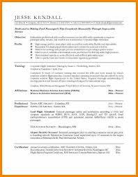 7 flight attendant resume sample character refence