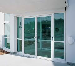 commercial front door entrances