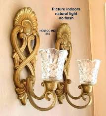 crystal candle wall sconces hobby lobby iron sconce rustic holder