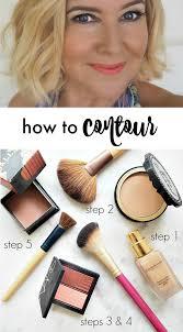 how to contour face makeup