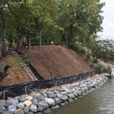 slopegrid retaining wall hdg building