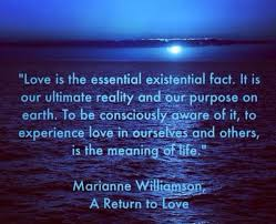 a return to love quotes