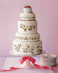 Strawberry Cake Assembly Recipe Martha Stewart Weddings