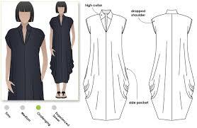 Designer Sewing Patterns Best Toni Designer Dress Style Arc