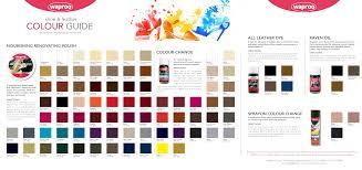 Waproo Colour Chart Colour Guide Manualzz Com