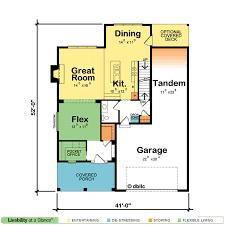 full size office home. Pocket Office Home Plan Full Size G
