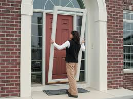 installing a storm door what you should know dark brown storm door diy