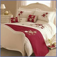 red and gold bedding uk