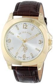 shop online for u s polo assn classic men s usc50011 analogue gold watches for men u s polo assn classic