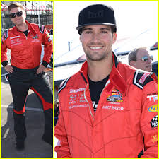 nathan kress muscles 2012. brett davern \u0026 nathan kress get the competition started during press day before toyota pro/celeb race muscles 2012