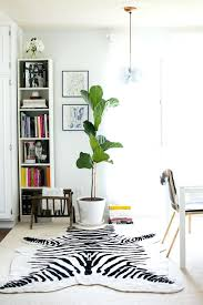 cowhide rug best animal print decor images on ikea canada