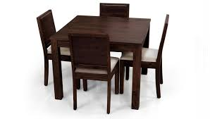 dining table 4 chairs square dining table for 4 homesfeed