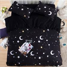 image of moon and stars comforter set