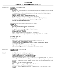 imagry analyst imagery analyst resume samples velvet jobs