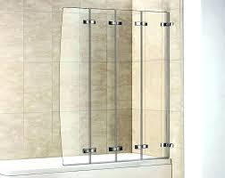 accordion glass shower door contemporary bi folding doors frameless