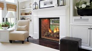 marquis see thru directvent gas fireplaces majestic s for the lake house between living