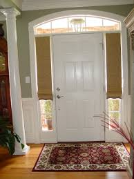 Front Door Window Coverings We Do Whatever Kind Of Treatments Our Client Asks Not Fond Of
