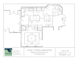 Kitchen And Dining Room Layout Transforming A 1980s Home Tuscan Blue Design