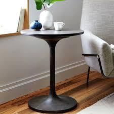 coffee table west elm stunning pedestal coffee table with concrete pedestal side table west elm west coffee table