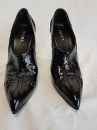 prada patent leather shoes